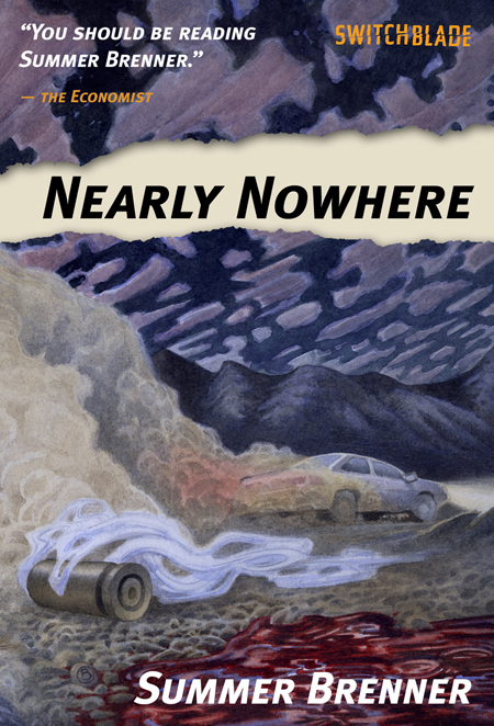 Nearly Nowhere book cover